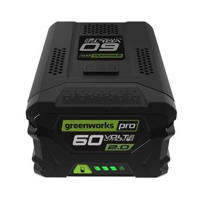 greenworks 60 Volt Lithium Ion-accu G60B4  4.0Ah