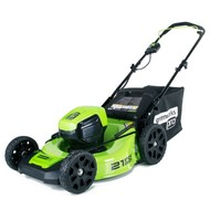 greenworks 60 Volt cordless lawn mower GD60LM46HP