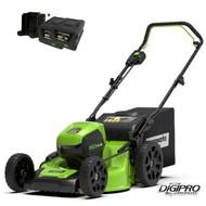 greenworks 60 Volt accu grasmaaier GD60LM46HPK2X