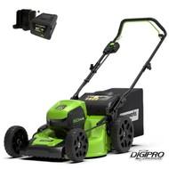 greenworks 60 Volt cordless lawn mower GD60LM46HPK4