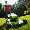greenworks 60 Volt accu grasmaaier GD60LM46SPK2X