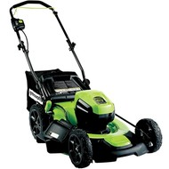 greenworks 60 Volt cordless lawn mower GD60LM51SP