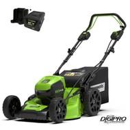 greenworks 60 Volt cordless lawn mower GD60LM51SPK4