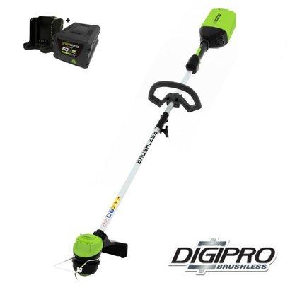 greenworks 60 Volt Akku-Trimmer GD60LTK4