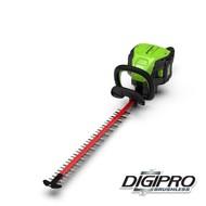 greenworks 60 Volt cordless hedge trimmer GD60HT