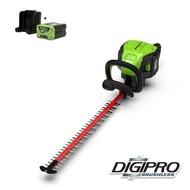 greenworks 60 Volt cordless hedge trimmer GD60HTK2