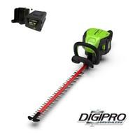 greenworks 60 Volt cordless hedge trimmer GD60HTK4