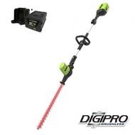greenworks 60 Volt Cordless Hedge Trimmer Long Range GD60PHTK4