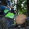 greenworks 60 Volt Akku-Kettensäge GD60CS40