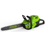 greenworks 60 Volt cordless chainsaw GD60CS40