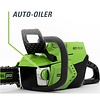 greenworks 60 Volt accu kettingzaag GD60CS40K4