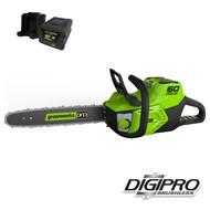 greenworks 60 Volt cordless chainsaw GD60CS40K4
