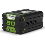 greenworks 80 Volt Lithium Ion battery G80B2