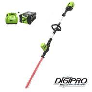greenworks 80 Volt Cordless Long Range Hedge Trimmer GD80PHTK2