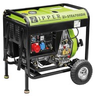 Zipper Machines  Austria Stroom generator ZI-STE6700DH