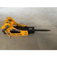 Günter Grossmann Hydraulic demolition hammer demolition hammer attachment