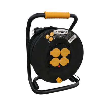 RELECTRIC RELECTRIC PRO CABLE REEL 50 MTR IP44 3X1.5MM