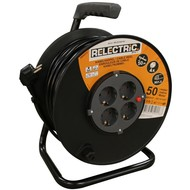RELECTRIC RELECTRIC CABLE REEL 50 MTR 3X1.5MM