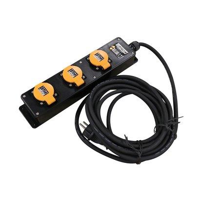 RELECTRIC RELECTRIC PRO STEKKERDOOS 5 MTR 3-VOUDIG 3X1,5MM