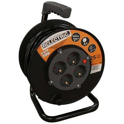 RELECTRIC RELECTRIC CABLE REEL 25 MTR 3X1.5MM