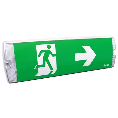 REDLED RELED EMERGENCY LIGHTING WALL 3 ICONS