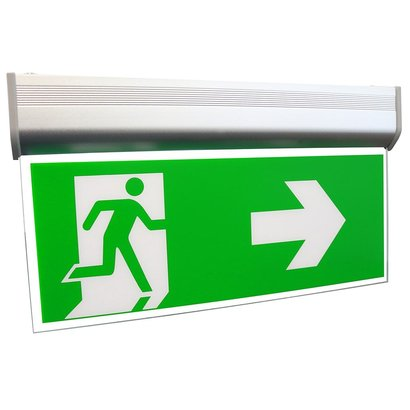 REDLED RELED EMERGENCY LIGHTING WALL / CEILING 3 ICONS