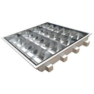REDLED RELIGHT RECESSED LUMINAIRE T8 595X595MM, 4X18W
