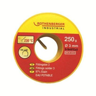 ROTHENBERGER ROTHENBERGER FITTINGSOLDER 3, 250G