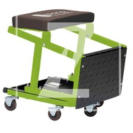 Zipper Machines  Austria ZI-MHKT4 Mobile Assembly stool and step combination.