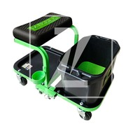 Zipper Machines  Austria ZI-MHKW5 Verrijdbare montage kruk met wasbak