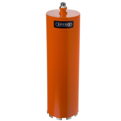 Spero tools 101mm Beton Diamantboor Dunwandig R1/2 - Nat gebruik - lengte 400mm