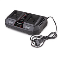 HYUNDAI POWER PRODUCTS BATTERY DUO QUICK CHARGER 3A
