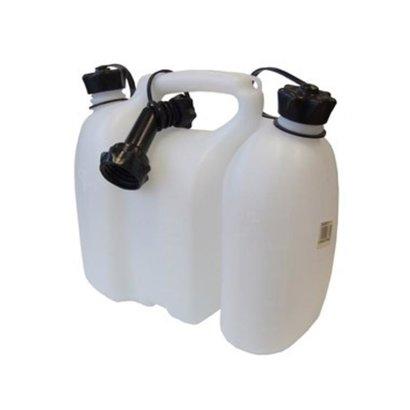 Nize Kanister, 8-Liter-Kombi, Kraftstoff und Öl,