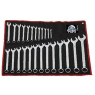 steek ring  sleutel set 26 delig in toolrol