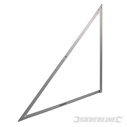 Silverline Opvouwbare winkelhaak 600mm