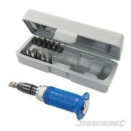 Silverline 14-delige soft-grip slagschroevendraaier set