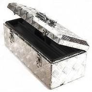 Kist aluminium 57x24,5x22 cm. mooi afgewerkte lichtgewicht