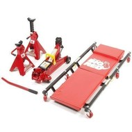 Nize Bed cart + jack 2 tons + axle supports