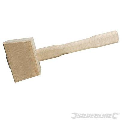 Houten hamer beitel hamer duurzame, hardhouten hamer. 115 mm