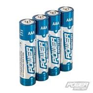 Silverline AAA super alkaline batterij LR03, 4 pk.