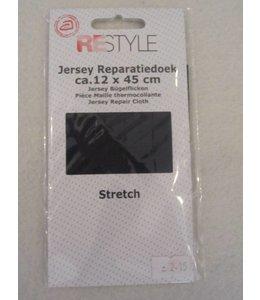 Jersey reparatiedoek Grijs