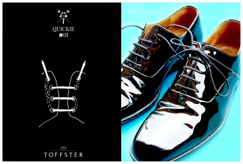 QUICKIE #01 - Schuhe schnüren