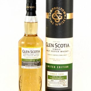 Glen Scotia Single Cask No. 153 ( lightly peated)