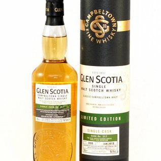 Glen Scotia Single Cask No. 217 (medium peated)