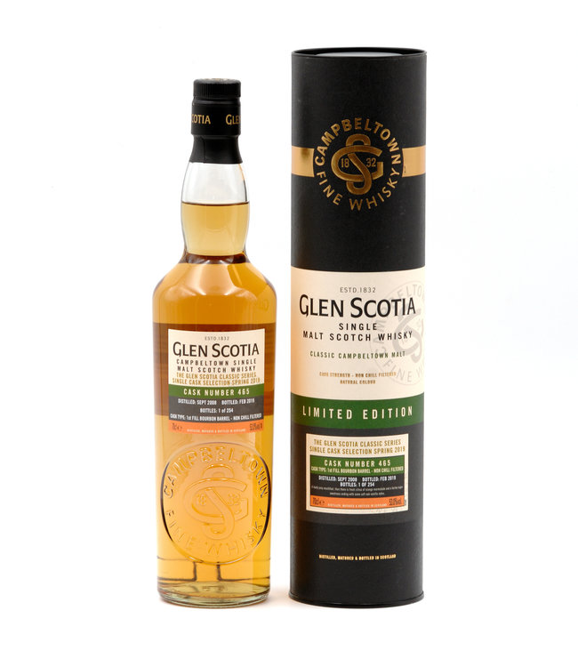 Glen Scotia 10 Jahre-2008/2019 (Single Cask Selection Spring 2019)