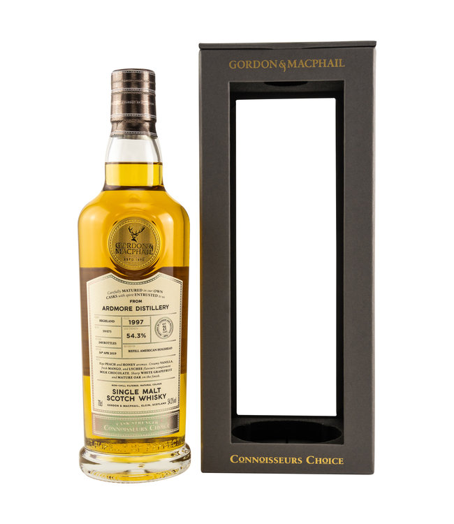 Ardmore Connoisseurs Choice Cask Strength 21 Jahre 1997/2019