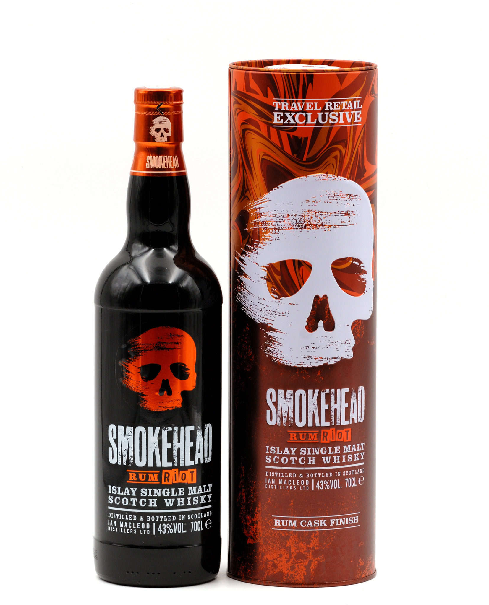 Neu im Travel Retail: Smokehead Rum Riot