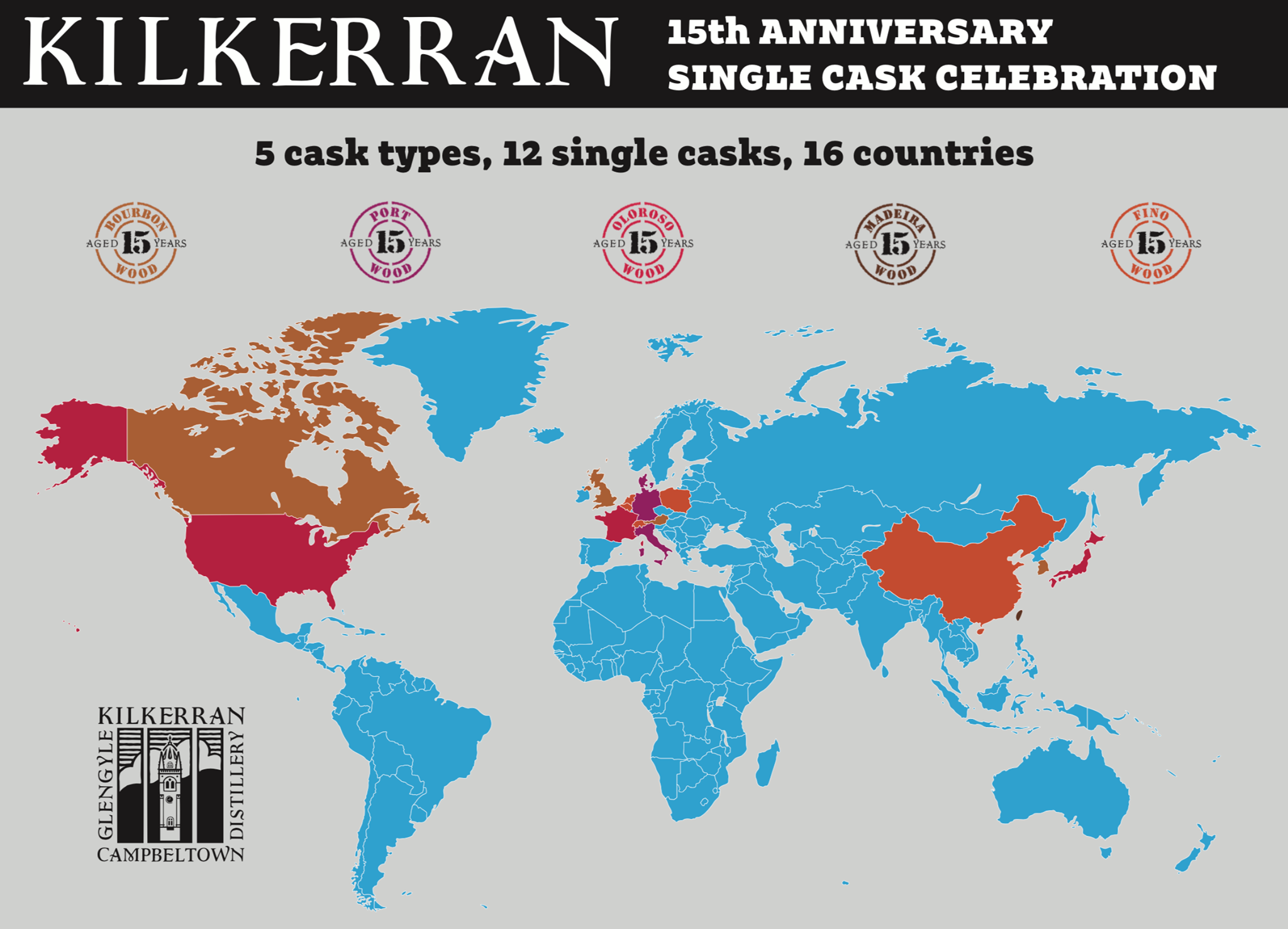 Kilkerran: 15th Anniversary Cask Celebration