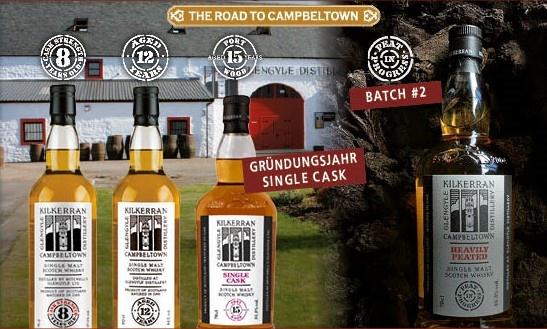 Neues aus der Glengyle Distillery