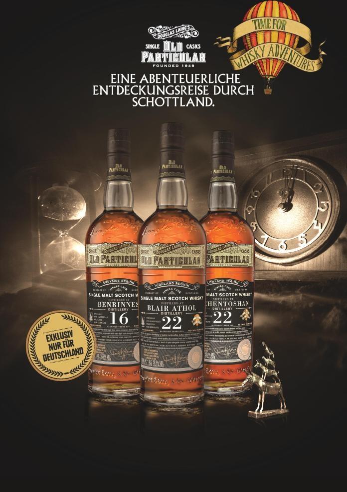 Time for Whisky Adventures – Douglas Laing veröffentlicht drei Sherrybomben